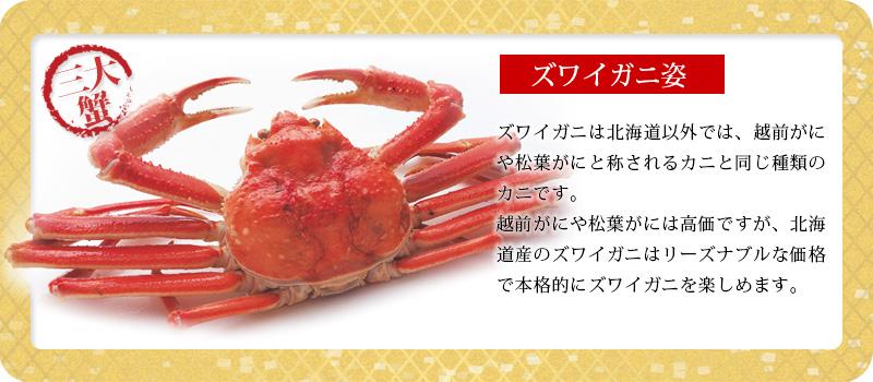 豪華海鮮福袋A「ズワイガニ」