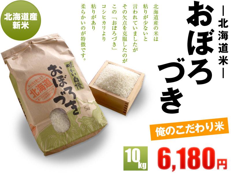 北海道産おぼろづき10kg