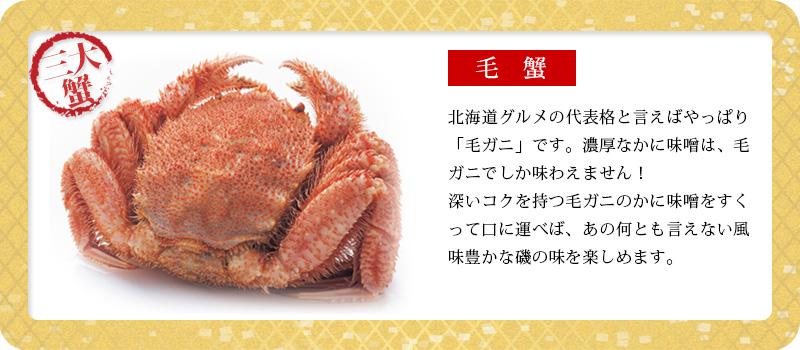豪華海鮮福袋A「毛蟹」
