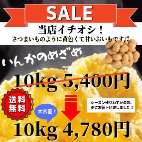 北海道インカのめざめ10kg